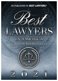 Best Lawyers in America - 2021